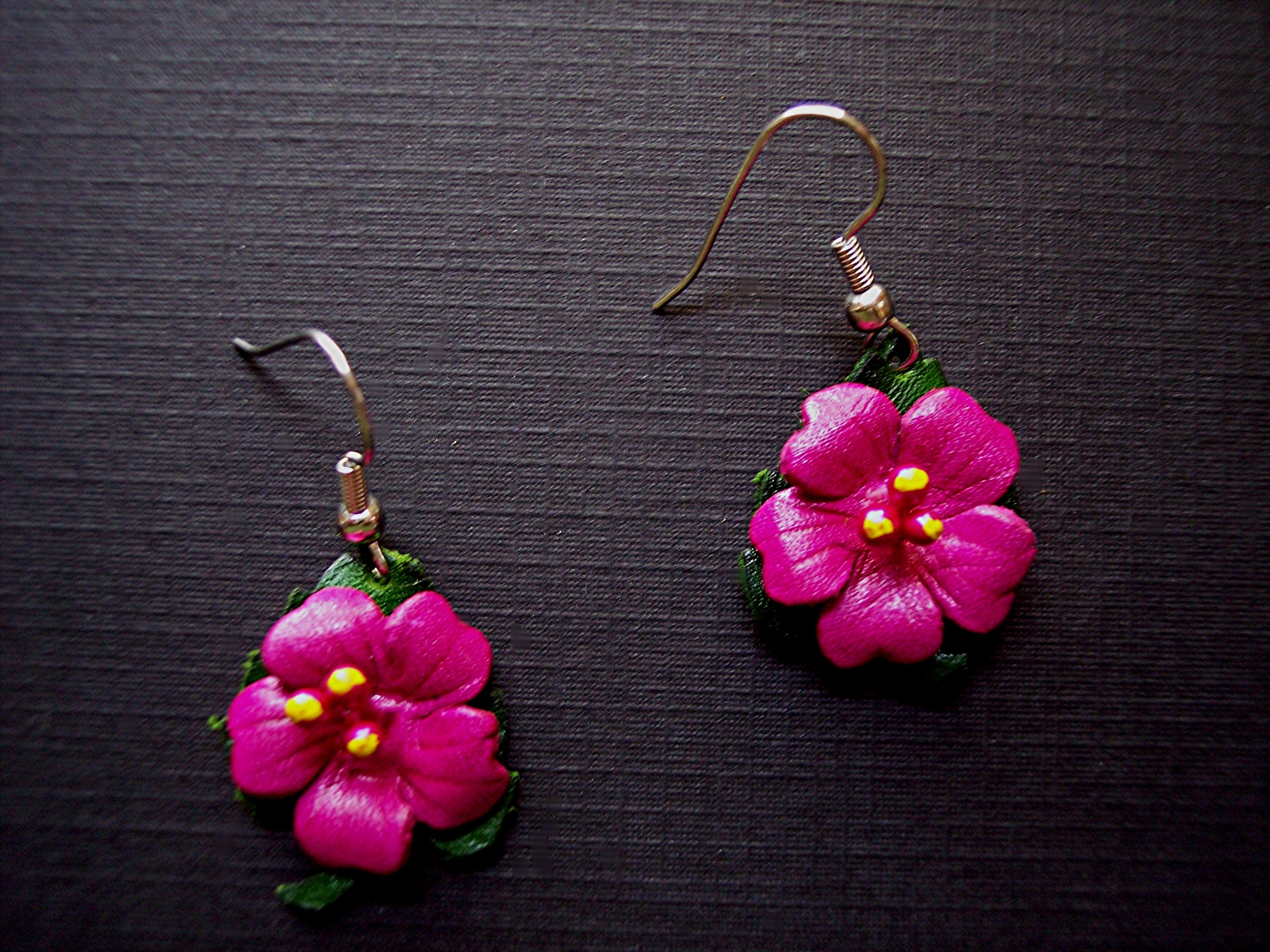 Leather Jewelry Earrings